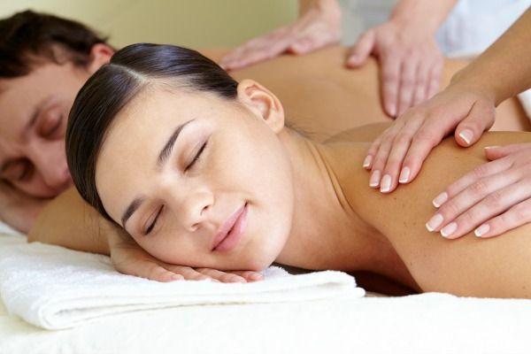 Un regalo romantico en masaje