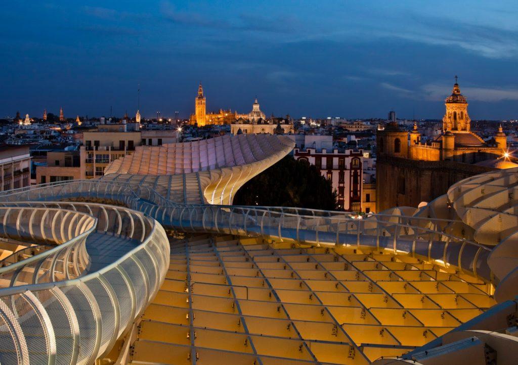 VER ATARDECER EN LAS SETAS Sevilla